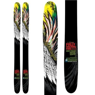 Lib Tech Fully Functional Five ReCurve Skis 2013