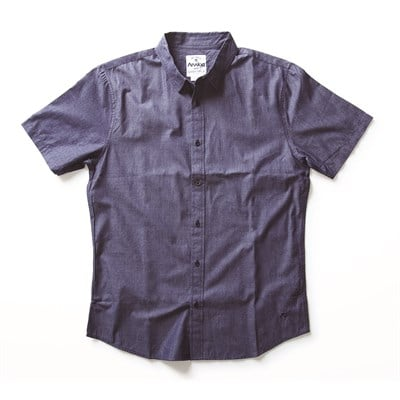 Analog Boris Short Sleeve Button Down Shirt