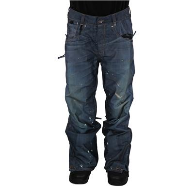 686 Ltd Destructed Denim Insulated Pants