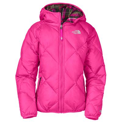 The North Face Moondoggy Reversible Down Jacket - Youth - Girl's
