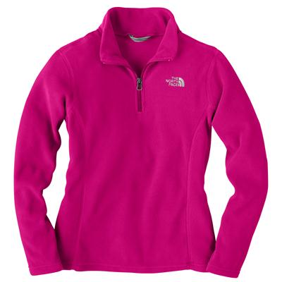 The North Face Glacier 1/4 Zip Fleece Jacket - Youth - Girl's