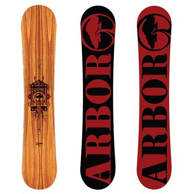 Arbor Roundhouse RX Mid Wide Snowboard 2013
