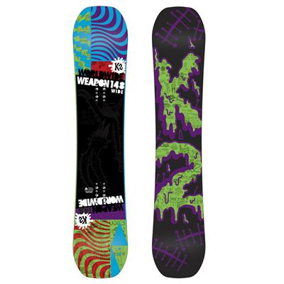 K2 WWW (World Wide Weapon) Rocker Wide Snowboard 2013