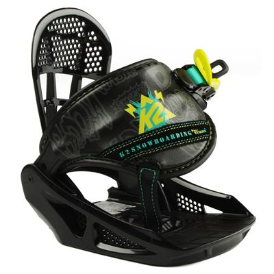 K2 Mini Turbo Snowboard Bindings - Youth - Boy's 2013