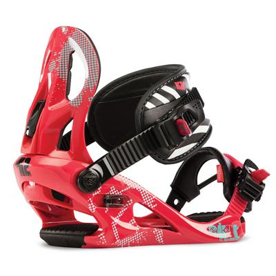 K2 Kat Snowboard Bindings - Youth - Girl's 2013