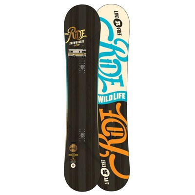 Ride Wild Life Wide Snowboard 2013