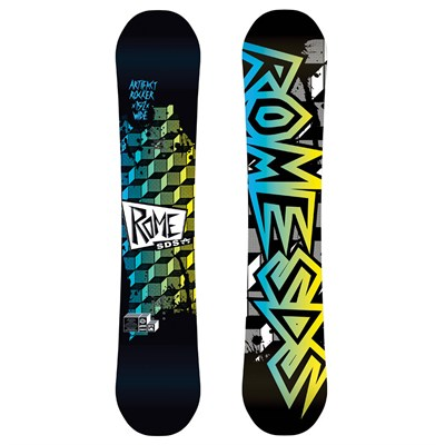 Rome Artifact Rocker Wide Snowboard 2013