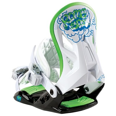Rome MiniShred Snowboard Bindings - Youth 2013