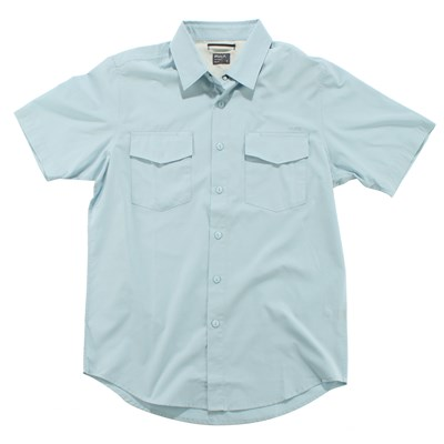 RVCA Republic Short Sleeve Button Down Shirt