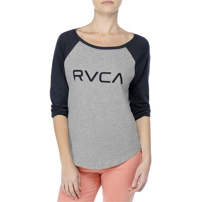 RVCA Big RVCA Raglan Top - Women's
