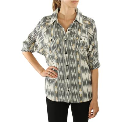 RVCA Broken Arrow Button Down Shirt - Women's