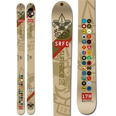 Surface Skullcandy One Life Skis 2013