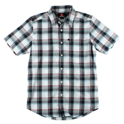 Quiksilver Jesus Iguana Short Sleeve Button Down Shirt