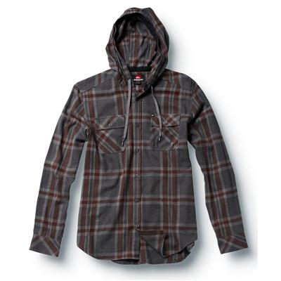 Quiksilver Grommet Hooded Button Down Shirt