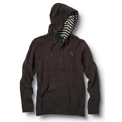 Quiksilver Invader Hooded Henley Shirt