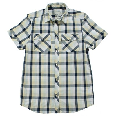 Wesc Putte Short Sleeve Button Down Shirt
