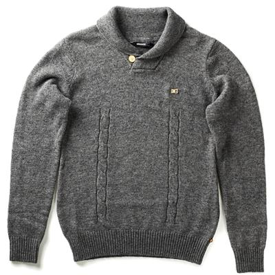 Makia Cable Knit Crew Sweater