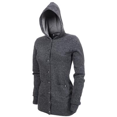 Makia Hooded Button Down Sweater - Women's
