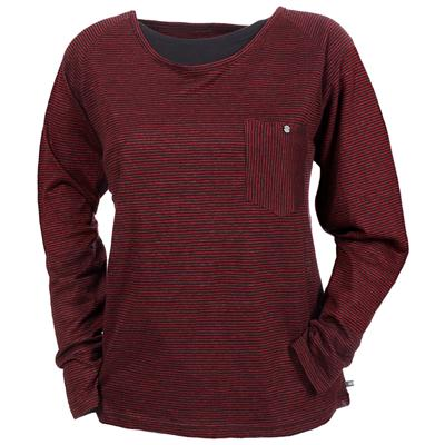 Makia Long Sleeve Pocket T Shirt - Women's