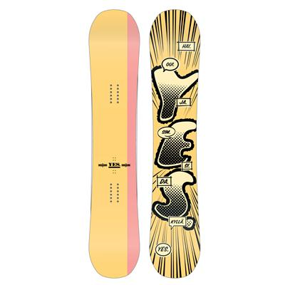 Yes. TDF Mid Wide Snowboard 2013