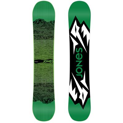 Jones Mountain Twin Wide Snowboard 2013