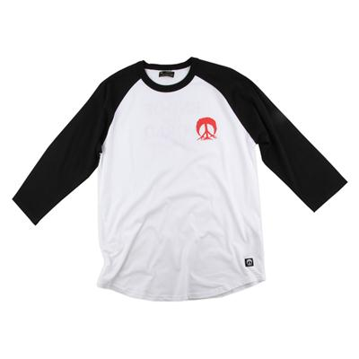 Gnarly End Of The World Raglan Shirt