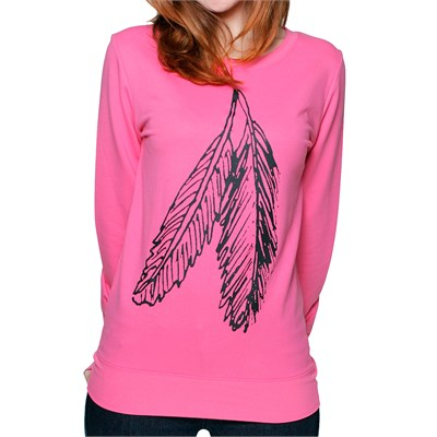 Glamour Kills Perfect Pair Long Sleeve Lightweight Sweatshirt - Women's