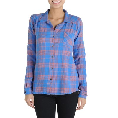 Volcom Plaid It Out Button Down Shirt - Women's