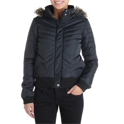 Volcom Hot Mitts Puffer Bomber Jacket - Women's
