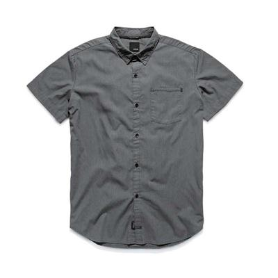 Kr3w Panic Short Sleeve Button Down Shirt
