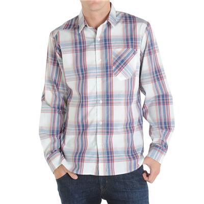 Volcom Ex Factor Plaid Long Sleeve Button Down Shirt