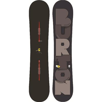 Burton Super Hero Wide Snowboard 2013