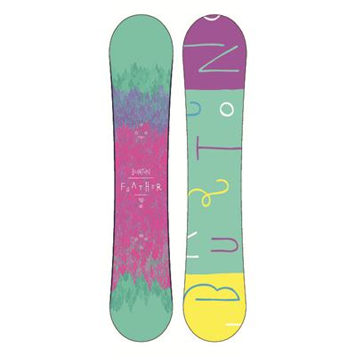 Burton Feather Mid Wide Snowboard - Women's 2013