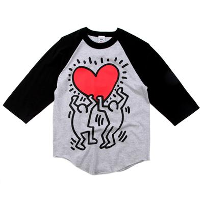 Obey Clothing Red Heart Raglan Shirt