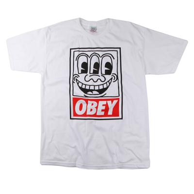 Obey Clothing Haring Eyes T Shirt