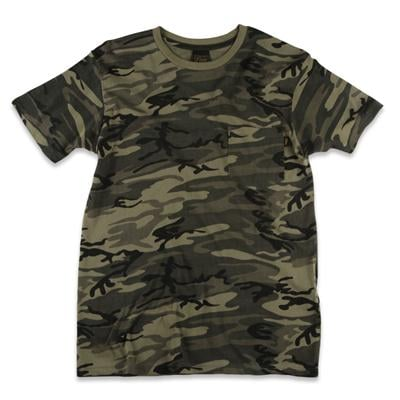 Obey Clothing Camo Pocket T Shirt