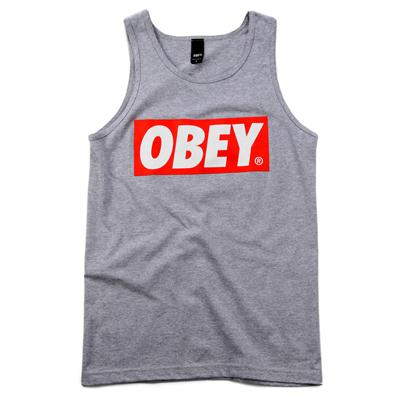 Obey Clothing Bar Logo Tank Top
