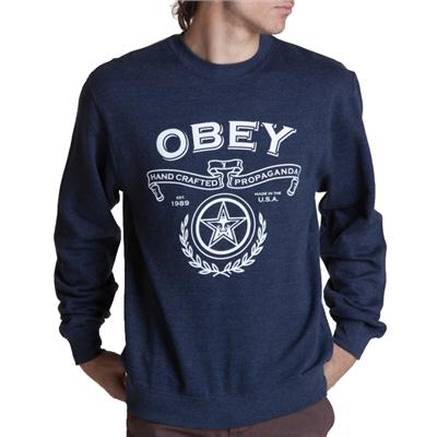 Obey Clothing Handcrafted Crew Sweatshirt