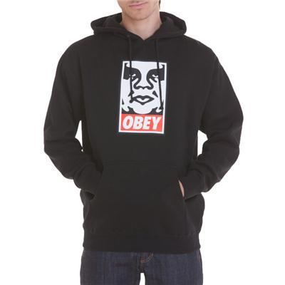 Obey Clothing OG Face Pullover Hoodie