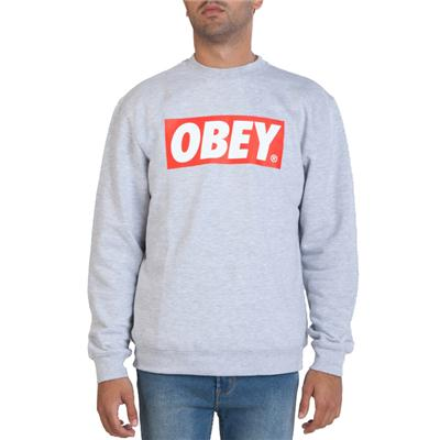 Obey Clothing The Box Crew Sweatshirt