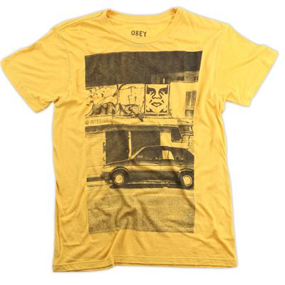 Obey Clothing Paris Photo T Shirt