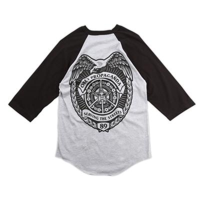 Obey Clothing Serving the Streets Raglan Shirt