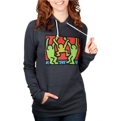Obey Clothing Haring Friends Pullover Hoodie - Women's