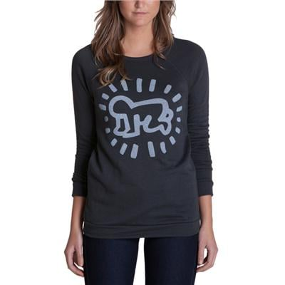 Obey Clothing Keith Haring Baby Crew Sweatshirt - Women's