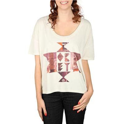 Obey Clothing United Geo Vintage Crop T Shirt - Women's