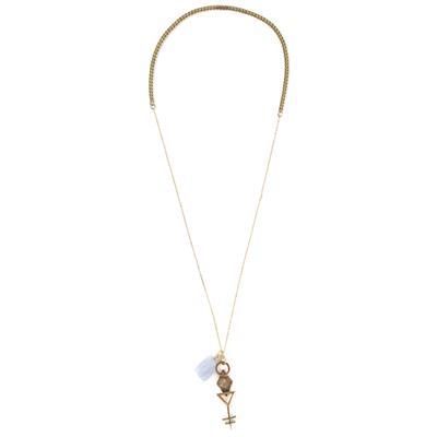 Obey Clothing Dark Crystal Necklace - Women's