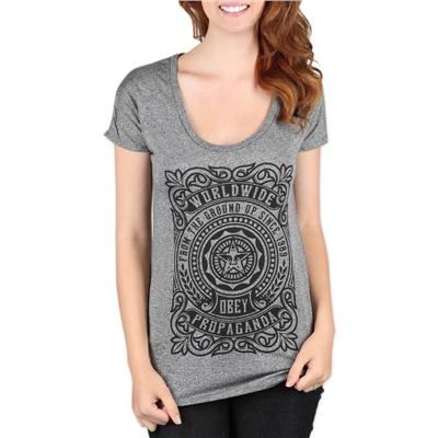 Obey Clothing From The Ground Up T Shirt - Women's