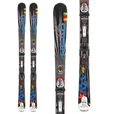 Head REV 85 Pro Skis + PRD 12 Wide 88 Bindings 2013