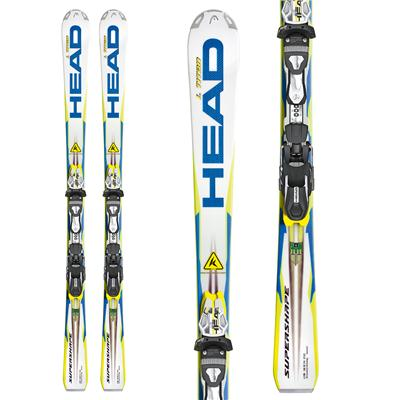 Head i.Supershape Titan Skis + FreeFlex Pro 14 Wide 88 Bindings 2013