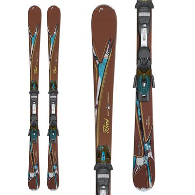 Head MYA No. 6 Skis + MYA 10 PR Bindings 2013
